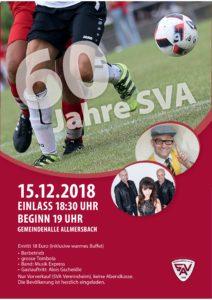 SVA Jahresfeier 2018 @ Turn- und Versammlungshalle Allmersbach