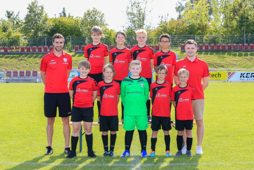 E1 Jugend SV Allmersbach
